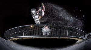 Snow Park mit Flutlicht in Nesselwang in den Allgäuer Alpen, © Falch Photography - Red Bull The Station Park, Nesselwang